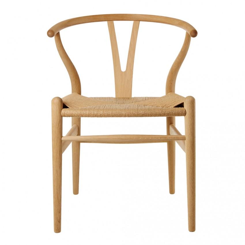 Ghế Wishbone mềm mại, uyển chuyển