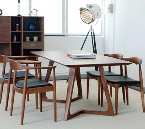 Bộ bàn ghế ăn mặt Veneer