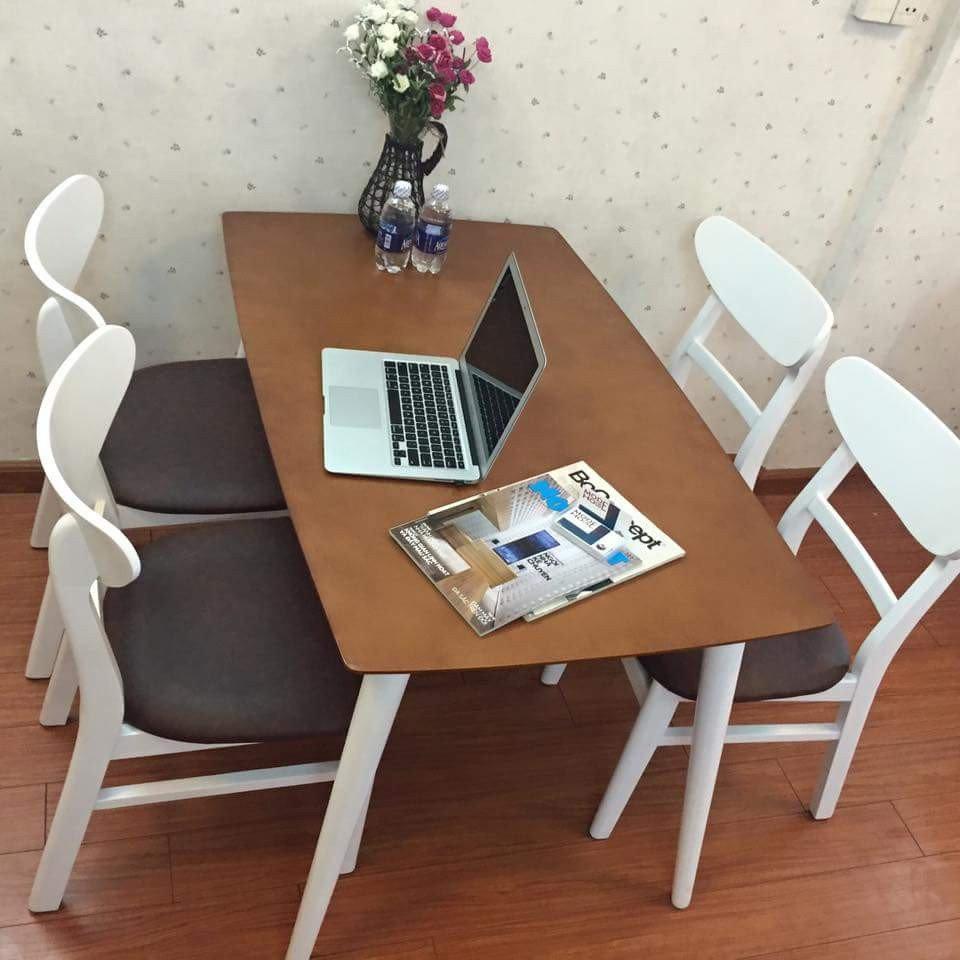 Bộ bàn ăn ghế Mango