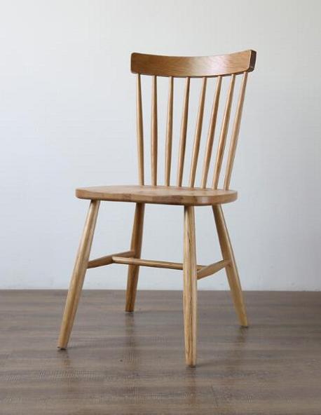 Ghế ăn Pinstol gỗ cao su
