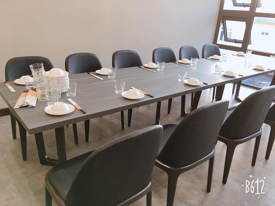 Bộ bàn ăn Concorde gỗ sồi