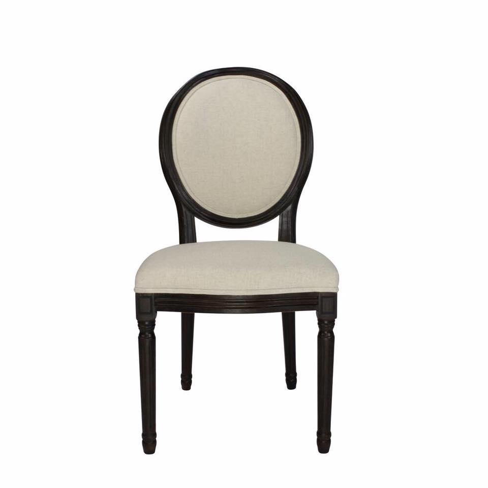 Ghế ăn Louis phong cách tân cổ điển