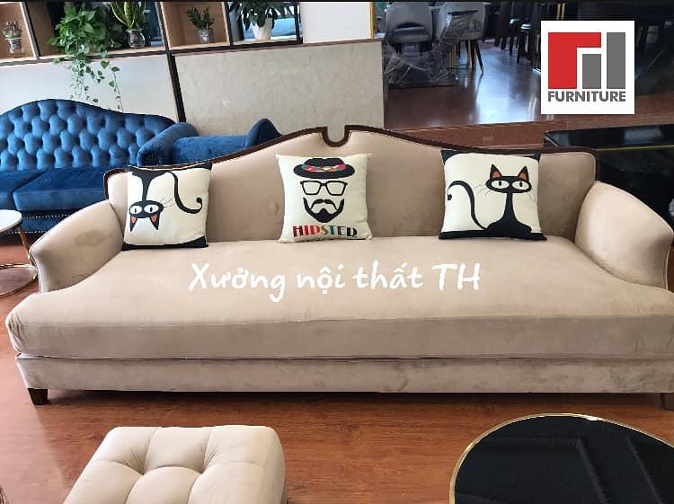 Văng sofa vintage với phong cách độc đáo, phù hợp với cô nàng đáng còn độc thân cá tính