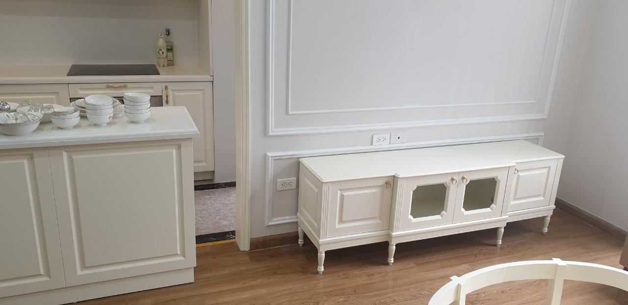 Sự trang nhã lan tỏa mọi ngóc ngách của căn hộ, đem đến cho gia chủ cảm giác dễ chịu nhất