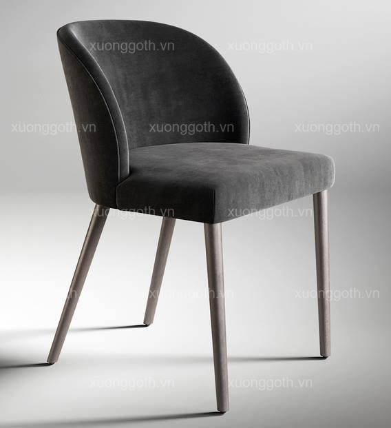 Ghế H1 vẫn nổi bật khi phần chân không bọc mạ