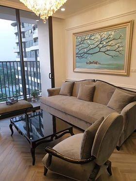 Sofa đơn CG khi ghép cùng bộ sofa phòng khách tạo điểm nhấn nổi bật