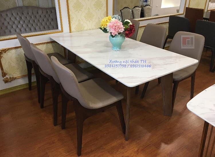 Bộ bàn ăn Howard 6 ghế mang phong cách hiện đại