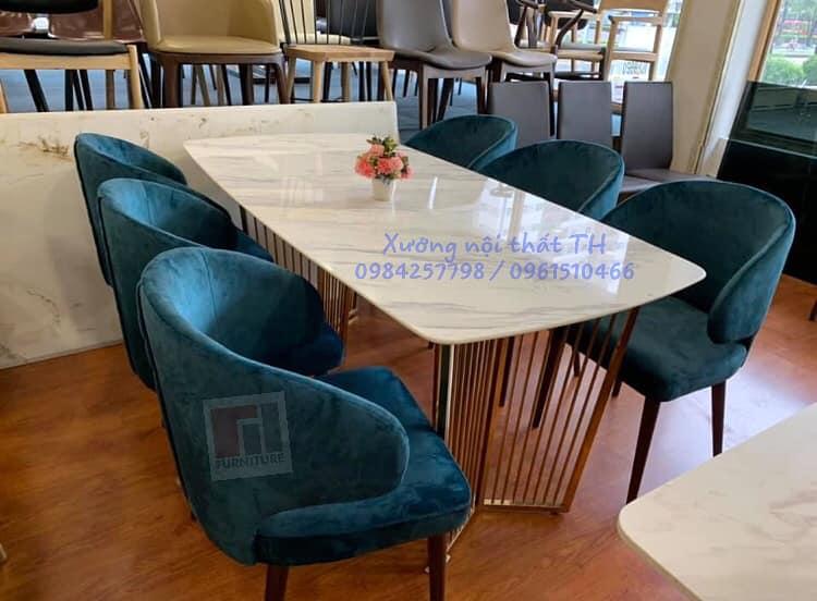 Bộ bàn ghế ăn H3 hiện đại