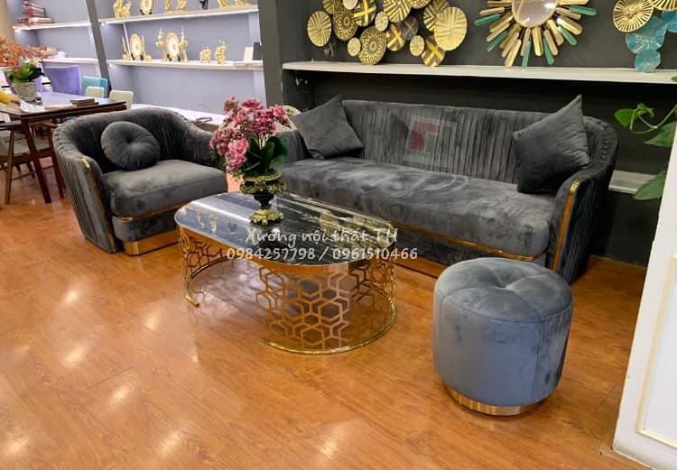 Bộ bàn ghế sofa hiện đại , sang trọng
