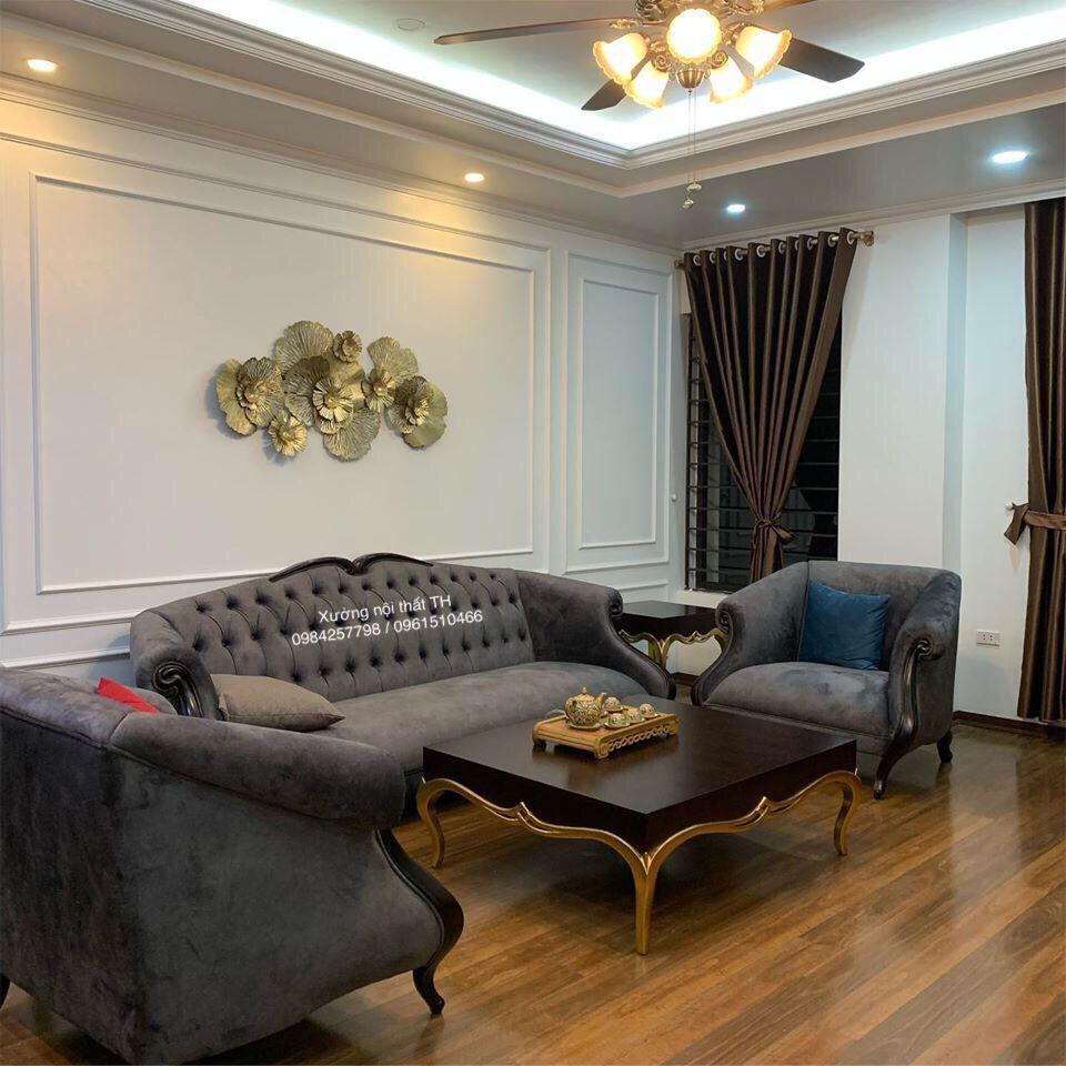 Bộ ghế sofa phòng khách CG sang trọng, đẳng cấp