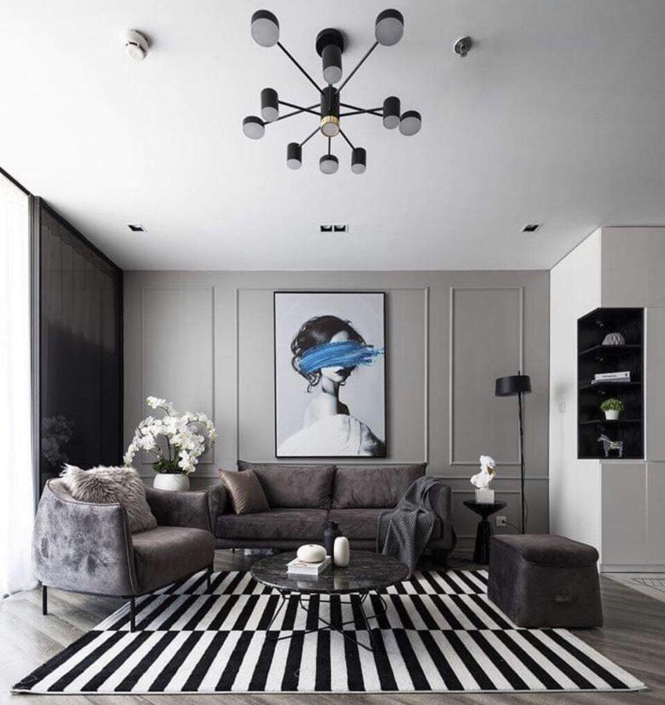 Bộ sofa hiện đại nhỏ gọn, xinh xắn dành cho các căn chung cư nhỏ
