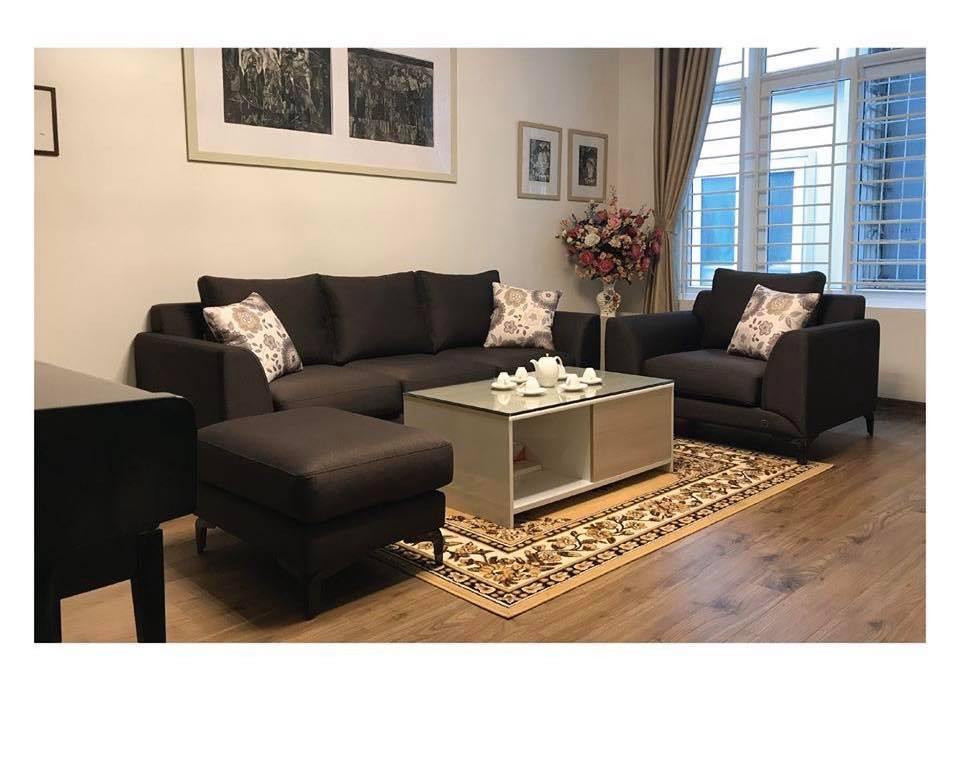 Bộ sofa hiện đại phù hợp với những căn phòng diện tích vừa phải