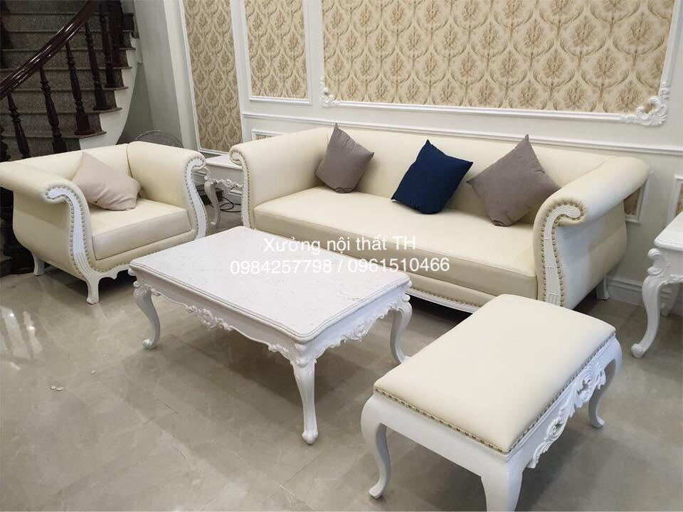 Bộ sofa tân cổ điển luôn giữ vị thế cao nhất trong ngôi nhà