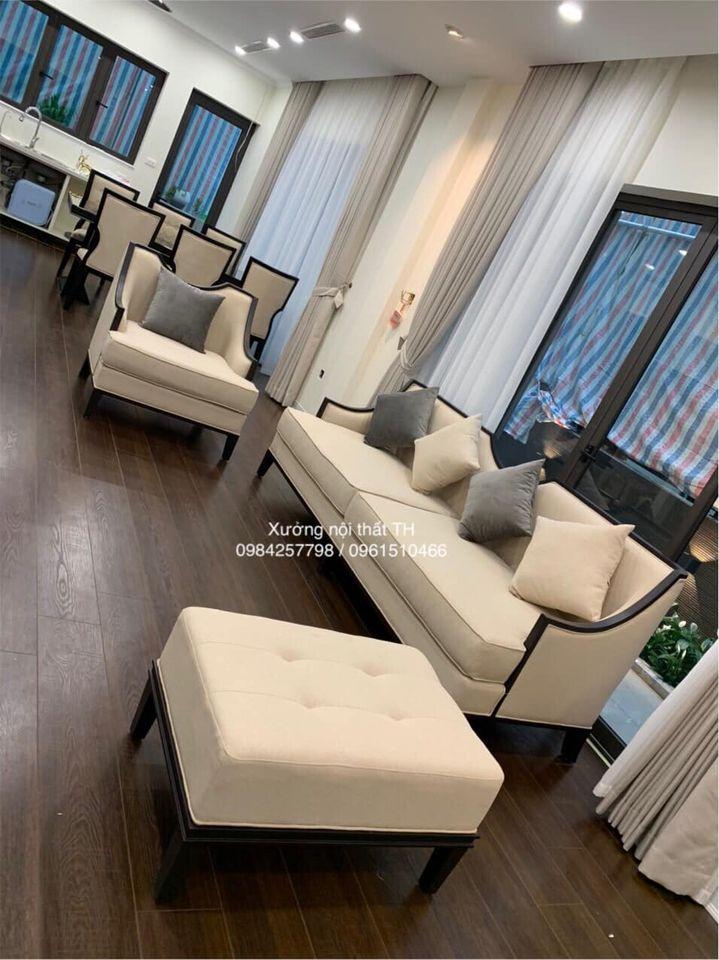 Bộ sofa với thiết kế kiểu dáng độc đáo và mới lạ cho phòng khách ấn tượng