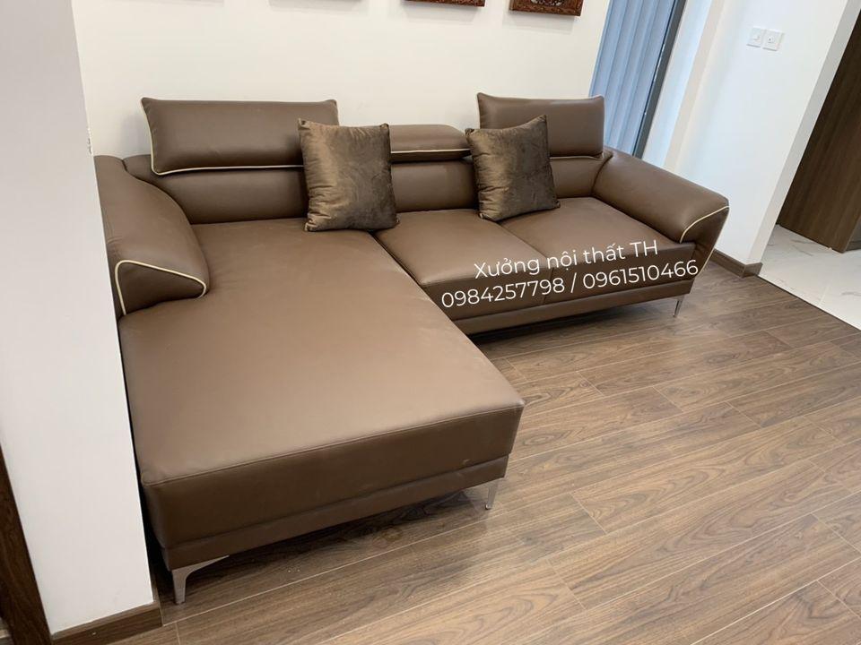 Bộ sofa gật gù chữ L phong cách hiện đại mạng lại không gian mới mẻ và sang trọng