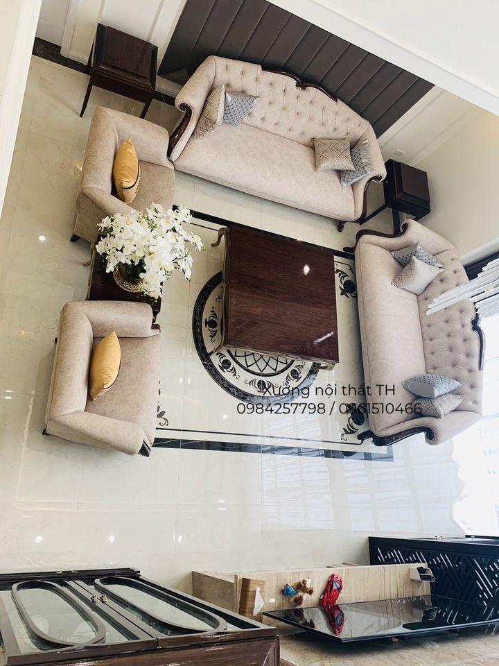 Bộ sofa CG sang trọng đẹp lung linh khi đặt trong không gian đẳng cấp