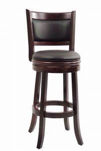 Nét đặc trưng đến đến từng cen-ti-mét của ghế Bar xoay 180 độ