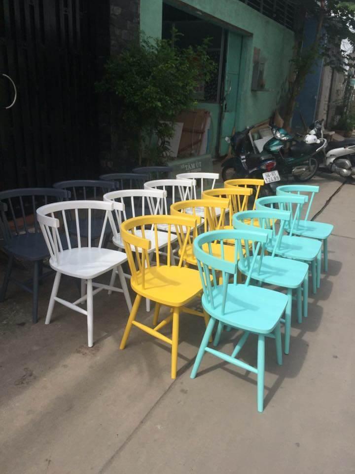 Ghế lyla với rất nhiều các màu sắc khác nhau