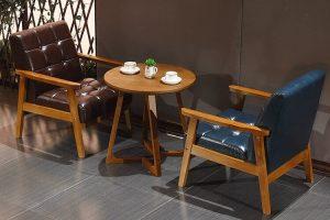 Bộ bàn ghế Cafe mang đậm chất nghệ thuật