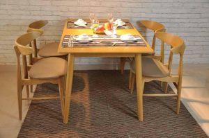 Những bộ bàn ghế ăn cơm sang trọng, tạo ra bữa ăn ngon miệng