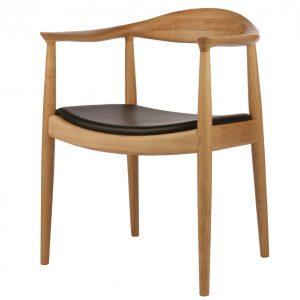 Mẫu ghế ăn gỗ sồi Kennedy cao cấp dành cho không gian phòng ăn