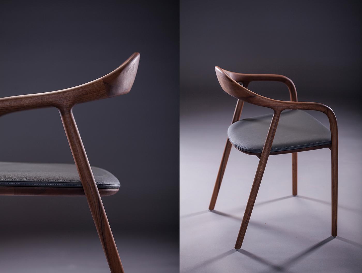 Mẫu ghế ăn Neva gỗ sồi hiện đại tạo ấn tượng tại Hà Nội