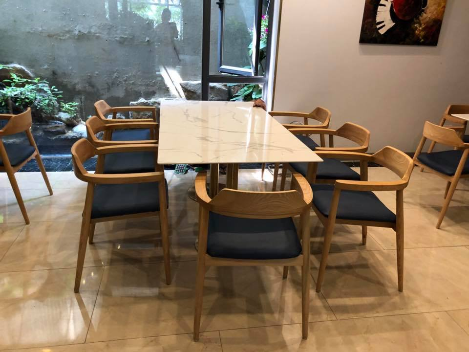 Bộ bàn ghế ăn Hiroshima
