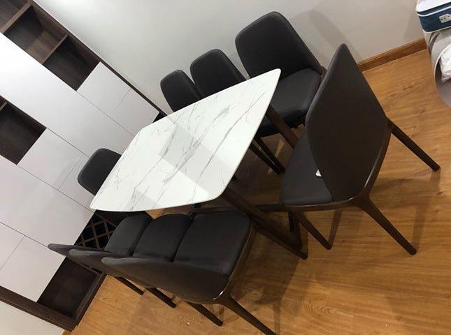 Bộ bàn ghế ăn Concorde 8 ghế