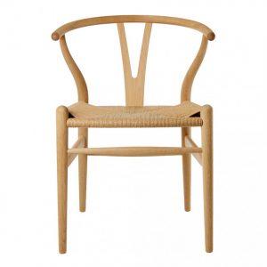 Ghế ăn gỗ đan cói Wishbone có thực sự tốt cho không gian bếp ?