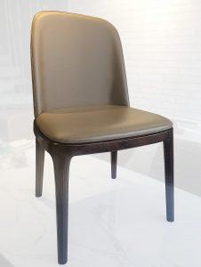 Khám phá mẫu ghế ăn Grace gỗ bọc nệm hiện đại – thời thượng