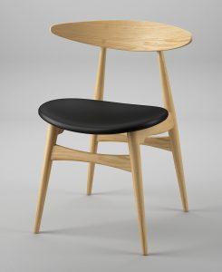 Ghế ăn CH33 gỗ bền đẹp đáp ứng nhu cầu bày trí đa dạng của mọi khách hàng