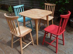 Ghế ăn Pinstol gỗ đẹp, chất lượng được gia công sản xuất trực tiếp tại xưởng