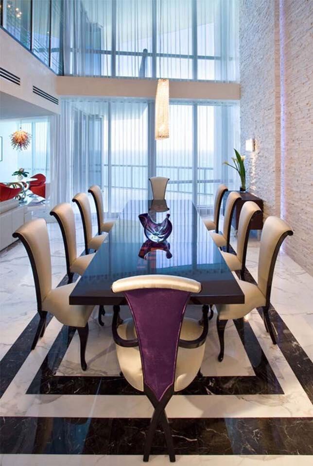 Bàn ghế ăn phong cách tân cổ điển sang trọng, đẳng cấp và vô cùng tinh tế