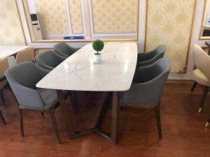 Bàn Ghế Phòng Ăn Ngày Hè Đẹp Với Những Gam Màu Hiện Đại Phù Hợp