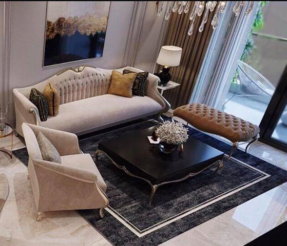 Sofa CG Lộng Lẫy Và Đẳng Cấp Mang Phong Cách Hoàng Gia