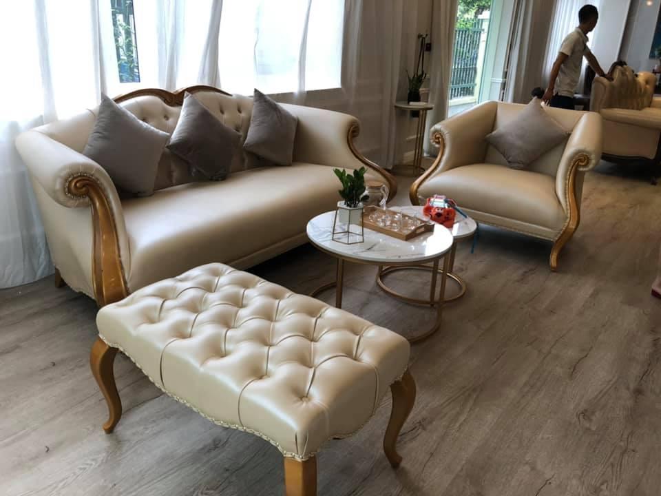 Sofa đẹp phong cách tân cổ điển