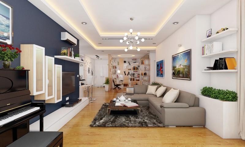 Thiết kế nội thất chung cư mini sang trọng và ấm áp