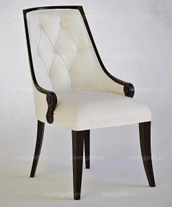 Ghế CG Tân Cổ Điển (Ghế H4) Với Họa Tiết Hoa Văn Độc Đáo Và Tinh Xảo