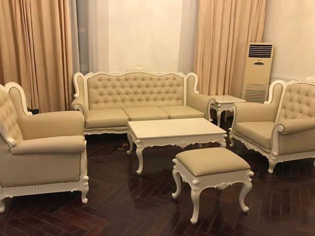 Bộ ghế sofa đẳng cấp phong cách tân cổ điển