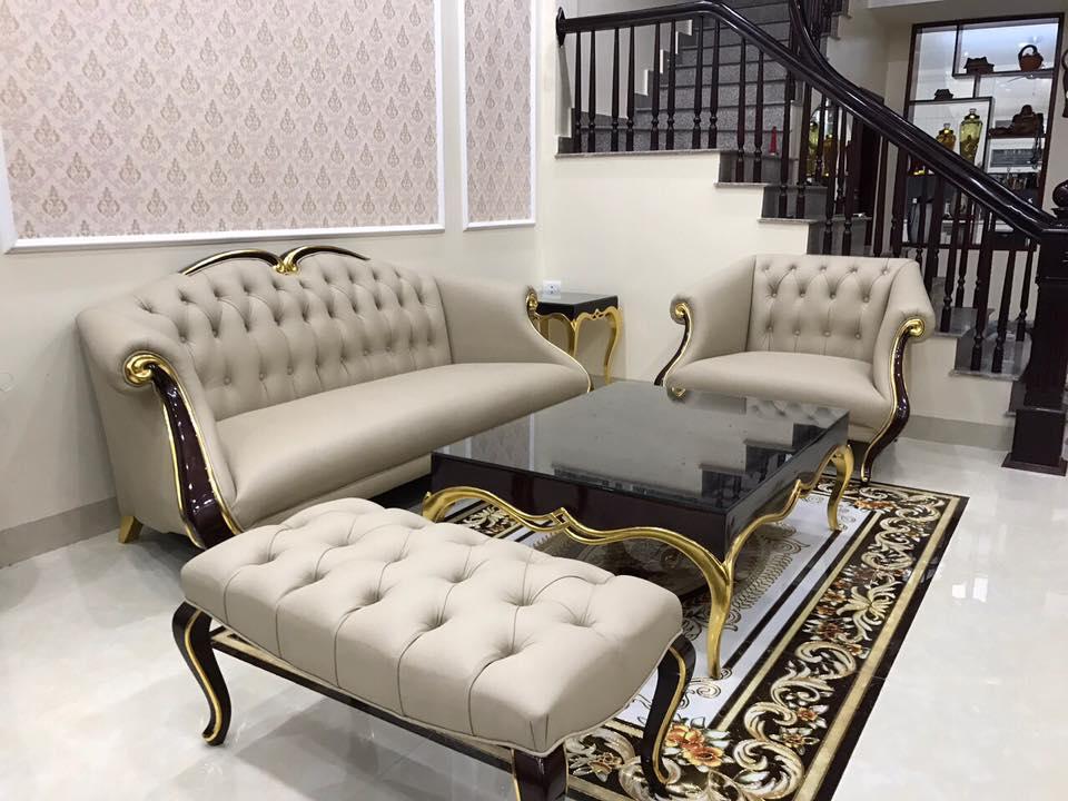 Sofa CG sang trọng bậc nhất cho căn biệt thự nguy nga lộng lẫy